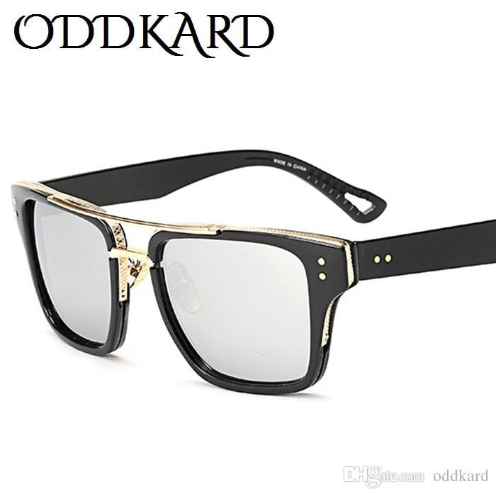 Oddkard dtc سلسلة عالية أزياء أنيقة للرجال والنساء العلامة التجارية مصمم ساحة نظارات الشمس oculos دي سول uv400 OK08969