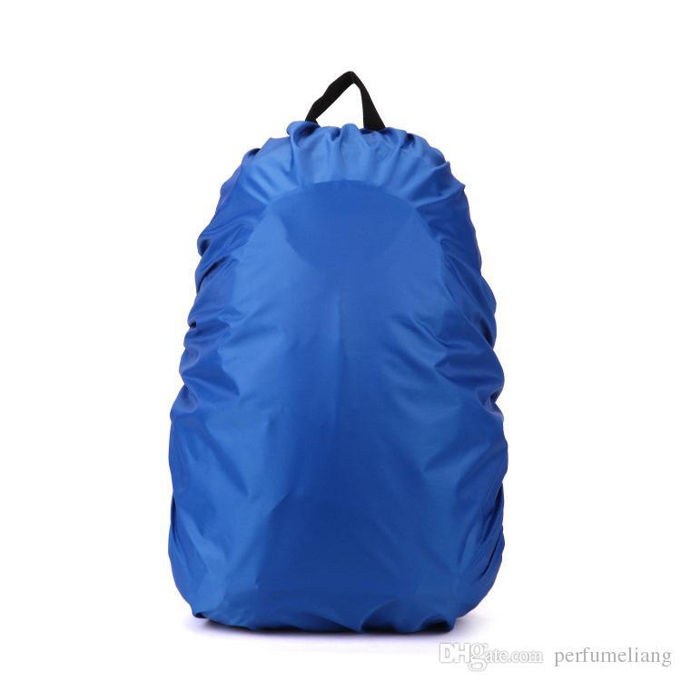 Wasserdichte regen abdeckung für Reisen Camping Wandern Outdoor Radfahren Schule Rucksack Gepäcktasche Staub Regen Abdeckung 5 Farben WA0684