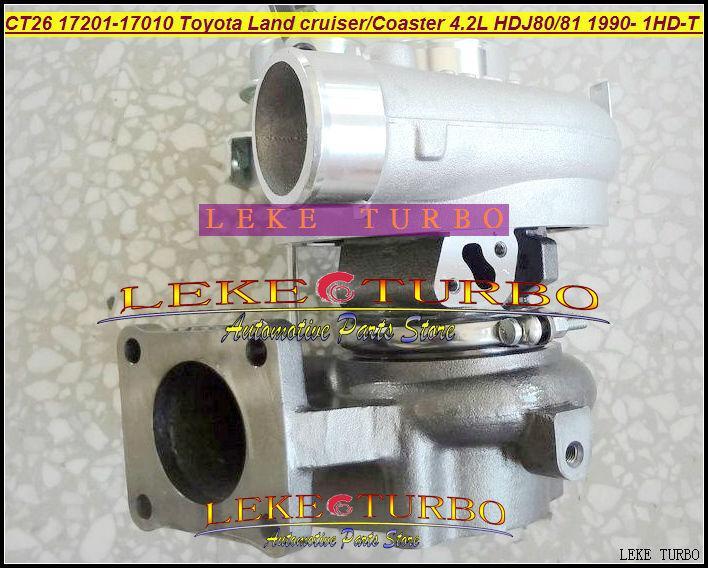 Wholesale CT26 17201-17010 Toyota Landcruiser TD Coaster 4.2LD HDJ80 HDJ81 1990-2001 160HP 1HDT 1HD-FT turbocharger