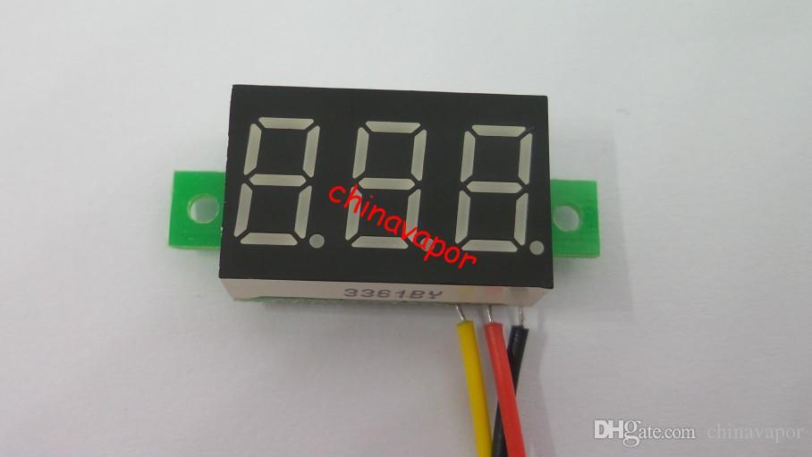 Usa Red Blue Green Yellow Color Led Display Dc 0 100v 0.36 Digital ...