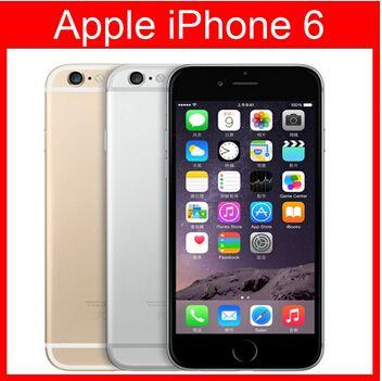 Recuperado de impressões digitais Cell Phone 4,7 polegadas ROM original 6 Suporte Apple iPhone 16GB A8 IOS 8.0 FDD desbloqueado celular remodelado