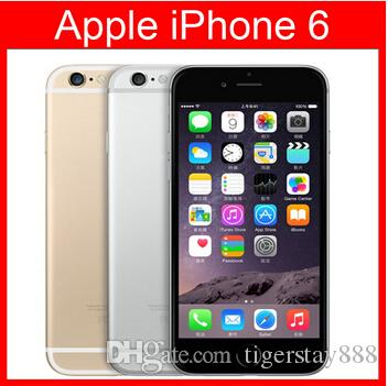 Refurbished Original Apple iPhone 6 Support fingerprint Cell Phone 4.7 inch ROM 16GB A8 IOS 8.0 FDD Unlocked refurbished cellphone