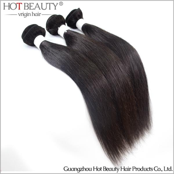 Brazilian Virgin Hair Straight Virgin Human Hair Weave Extensions