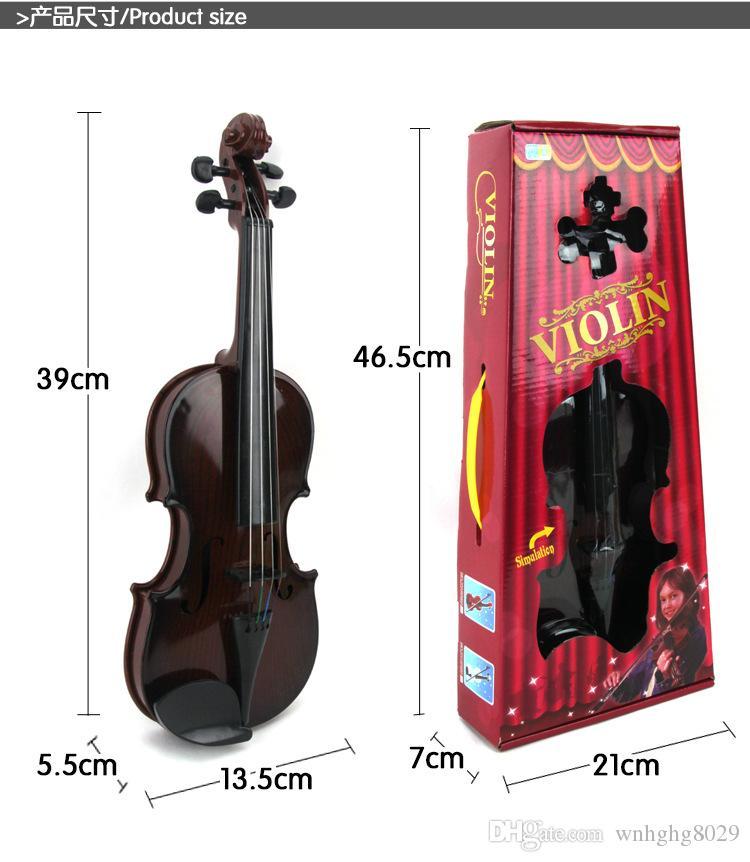 NUOVO Violino Elettrico per Bambini Bambini Strumento Musicale Giocattolo Musicale Violino