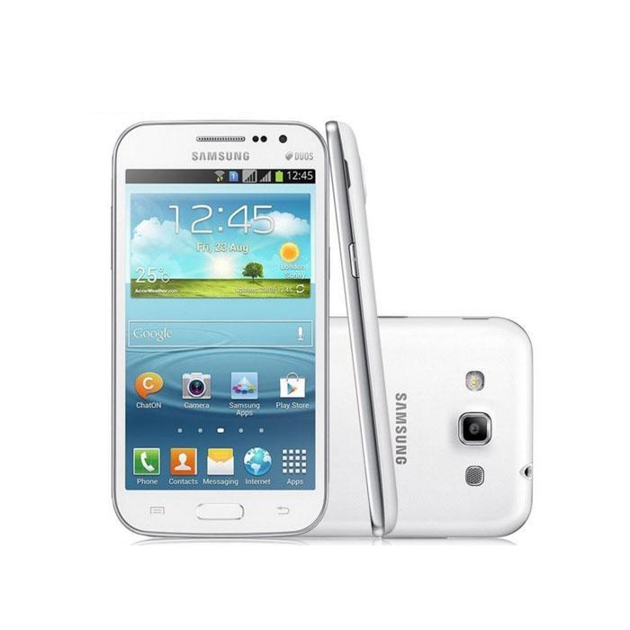"""سامسونج غالاكسي فوز I8552 4.7 """"الهاتف الذكي 1GB RAM 4GB ROM تجديد الأصلي مقفلة الهاتف الروبوت رباعية النواة الروبوت الهاتف المحمول"""