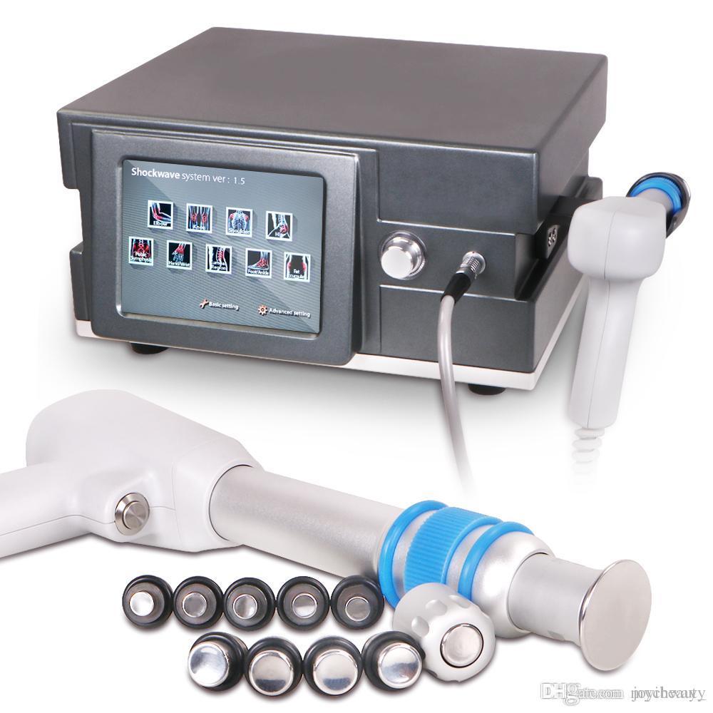 Sistema de tratamiento del dolor que adelgaza la máquina de ondas de choque Pérdida de peso Radio de formación de colágeno radio ultrasónica