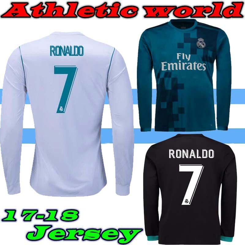 2021 2017 18 Real Madrid Home Third Jersey 17 18 Ronaldo ASENSIO ...