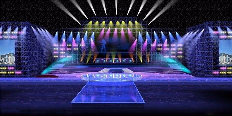 LED Par RGBW DMX512 Disco Lamp stage light11
