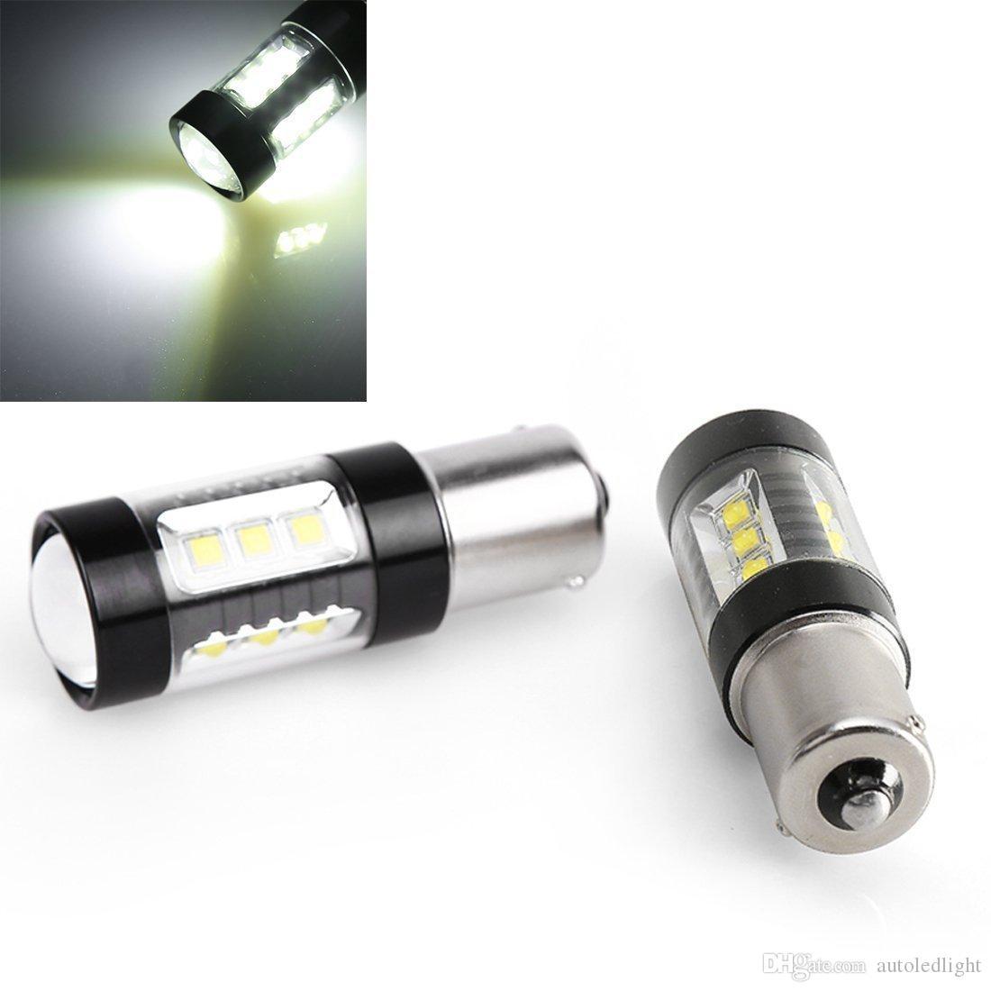 Auto LED Bulbs White H4 H7 9003 80W Projector Ultra Bright Headlight Beam High Power Car Fog Lights