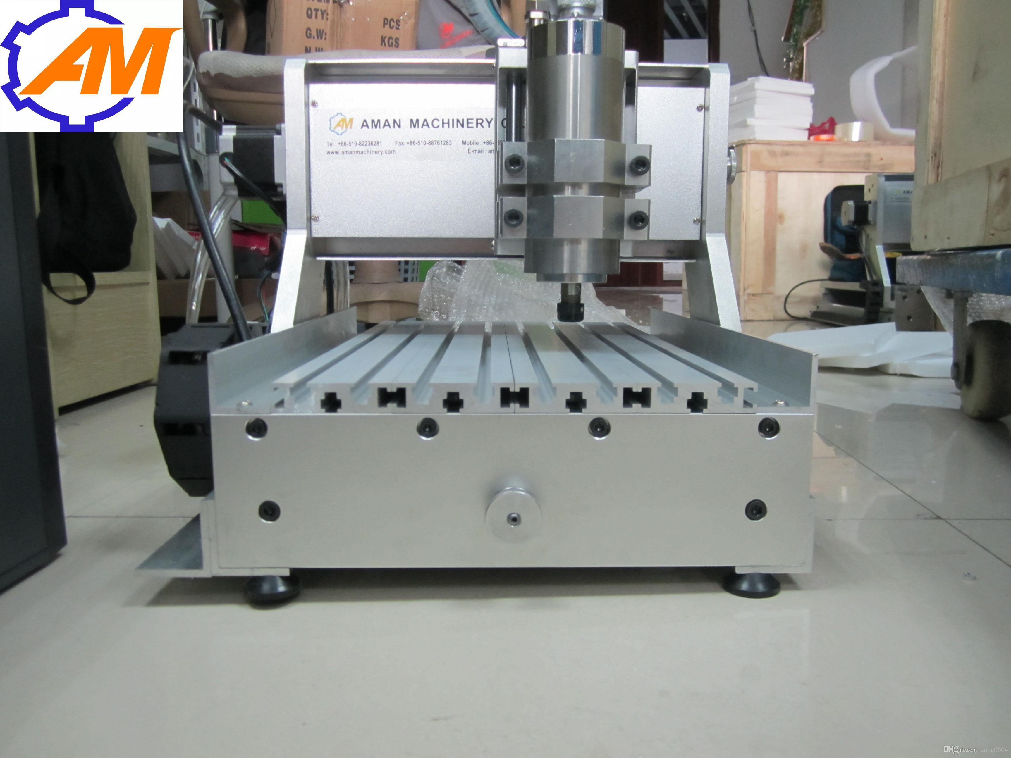 Cina cnc fresatrice, AMAN 3020 metallo macchina per incisione, fresatrice cnc, mini cnc incidere macchina, macchina cnc lavorazione del legno
