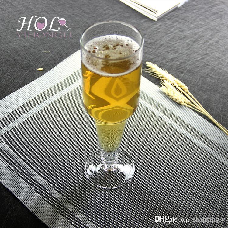 Copo de cerveja personalidade artificial de sopro