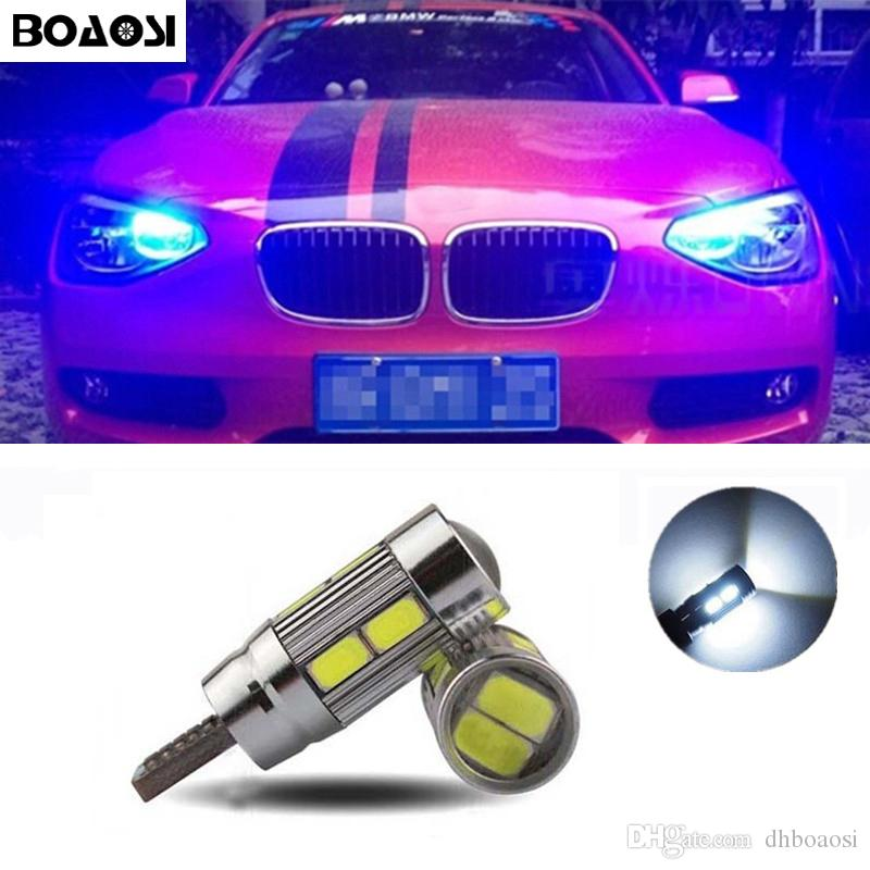 BOAOSI T10 5630SMD LED Parking Lights Sidelight No Error For BMW E46 E39 E91 E92 E93 E28 E61 F11 E63 E64 E84 E83 F25 E70 E53 E71 E60