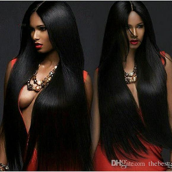 150 ٪ الكثافة الرباط الجبهة شعر الإنسان الباروكات بيرو العذراء الشعر الرباط الجبهة الباروكات مستقيم يشبع الانسان الشعر الباروكات للنساء السود