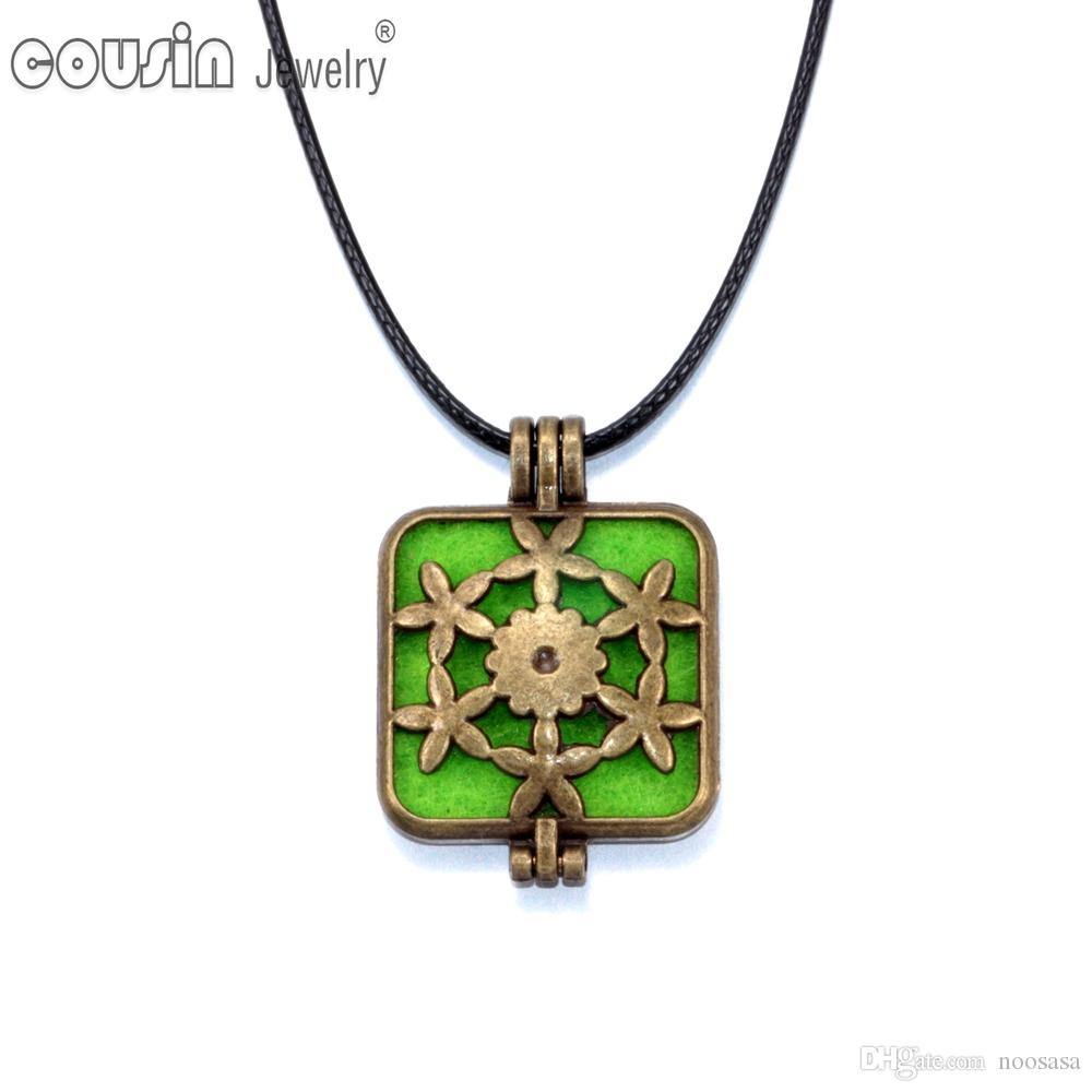New Arrivals 50pcs/lot Pendant Necklaces Perfume magic Pendant Aromatherapy / Essential Oil Diffuser Necklace pendant P1