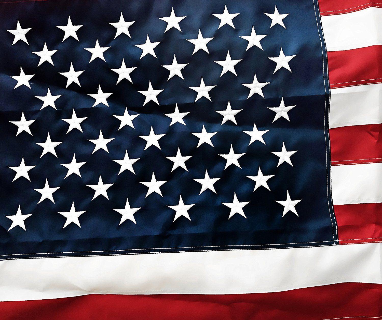 NYLON AMERICAN FLAG 3X5 EMBROIDERED STARS SEWN STRIPES US USA HIGH QUALITY NEW