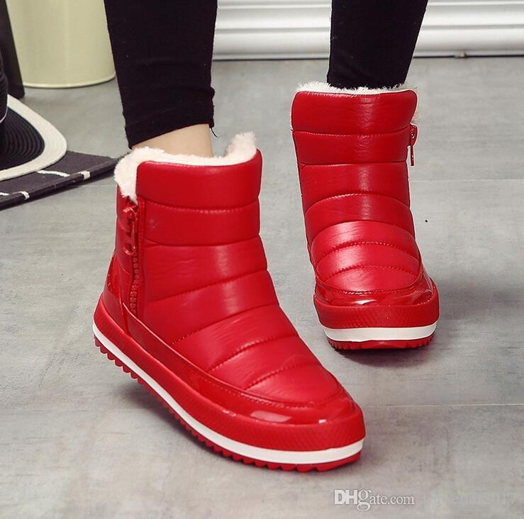 Cheap Women Boots Plush Sales Warm