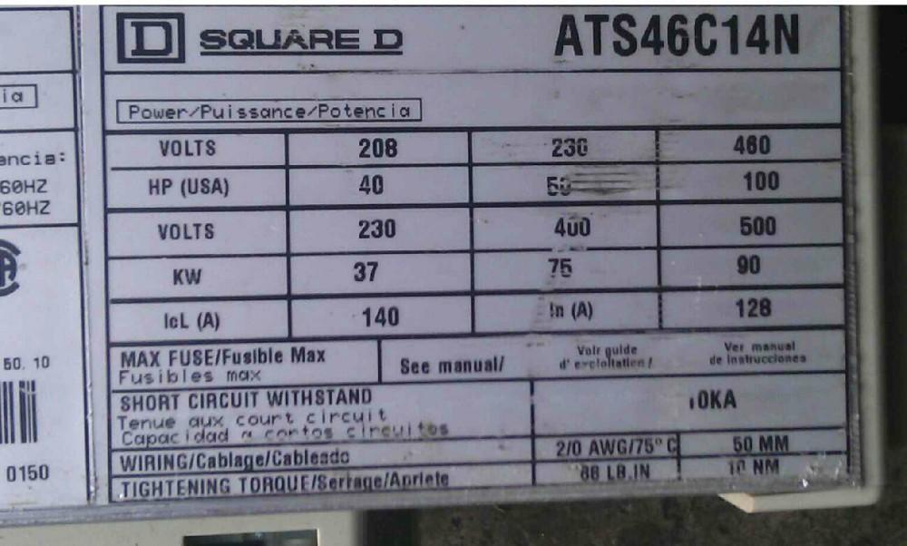 ATS46C14N 37KW