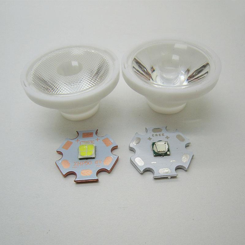 32.5mm Bead 25 Degree / Smooth 5 Degree Led Lens For 5050 CREE XHP50 XM-L2 XM-L Led Light