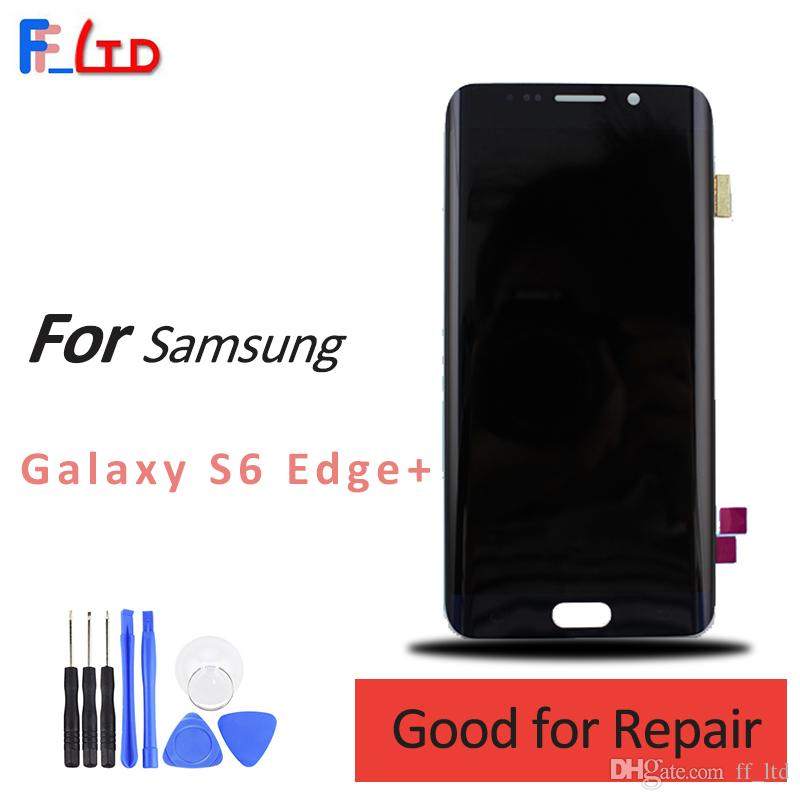 Original for Samsung Galaxy S6 Edge Plus LCD Display Digitizer Assembly with Touch g928f g928v G928a G928p g928fd Screen Replacement