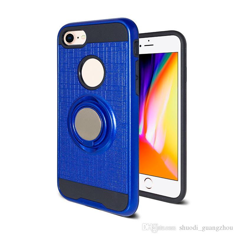Hot Selling Dual Layer Slim Armor Case For ZTE Z982 Sequoin Blade Zmax Pro Hybrid 2 in 1 TPU+PC Mobile Phone Case