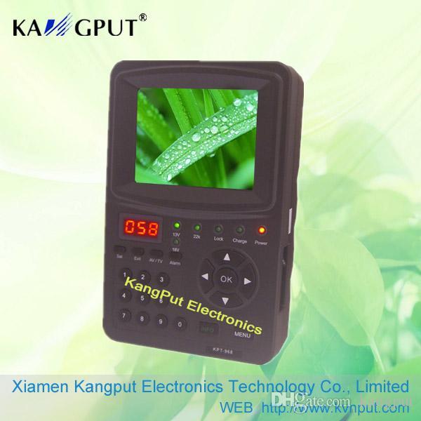 Hot Sale SatFinder Meter DVB-S2 Signalkabel SAT Signal Finder KPT968G