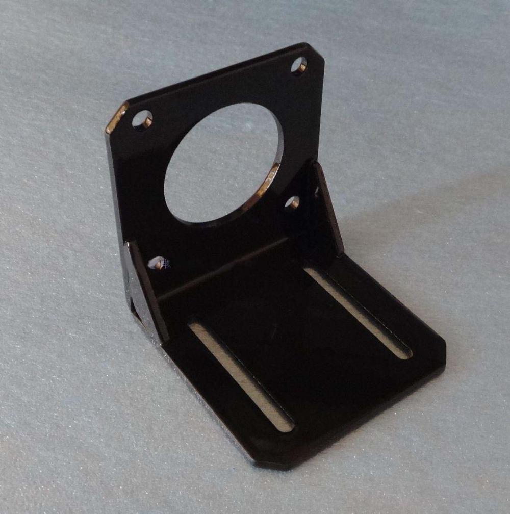 Frete grátis Atacado 3 pcs muito NEMA 23 motor de passo instalar montagens Motor Material de aço de suporte de montagem com 4 pcs Parafuso