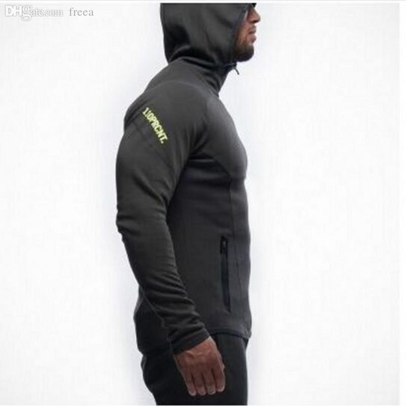 Wholesale-Gym Aesthetics Revolution Gym Snapback Clothing Hoodie Men Bodybuilding Pullover Sweatshirt Fitness Jogging Sport Wear For Boys