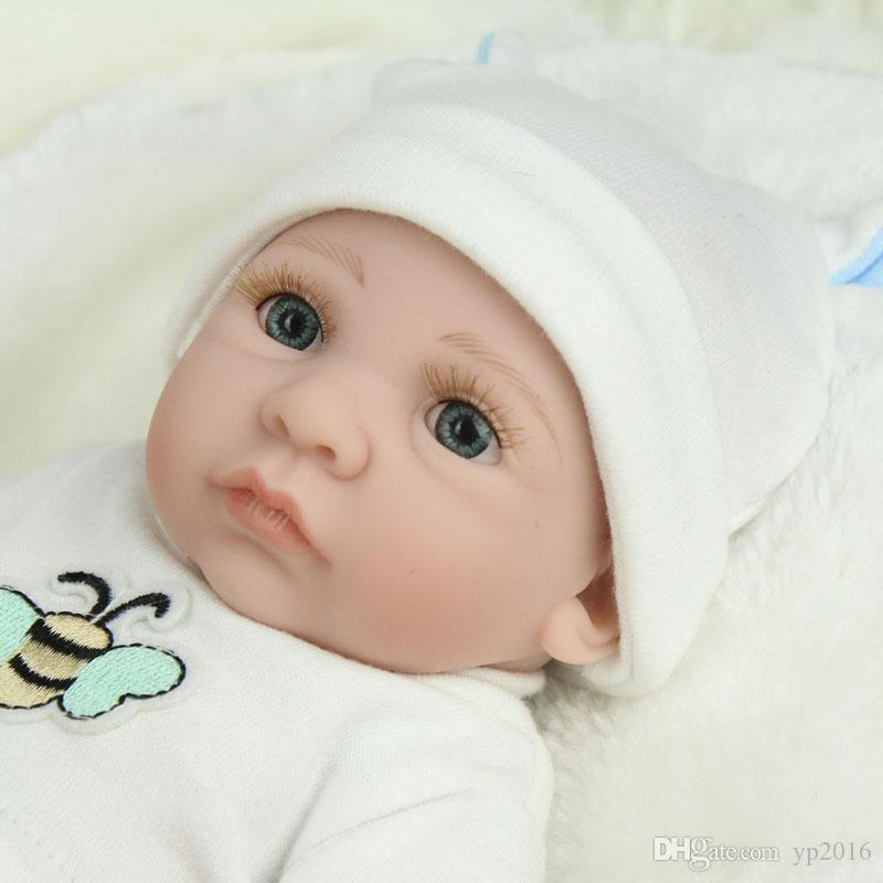 "Reborn Doll Lifelike Newborn Realistic Baby Silicone Full Body 18/"" Dream Boy Toy"