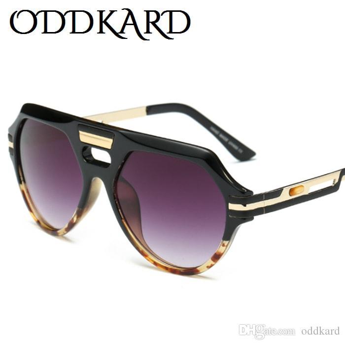 ODDKARD DTC سلسلة مصمم النظارات الشمسية للرجال والنساء الفاخرة الطيار موضة النظارات خمر ريترو للجنسين نظارات uv400 OK92279