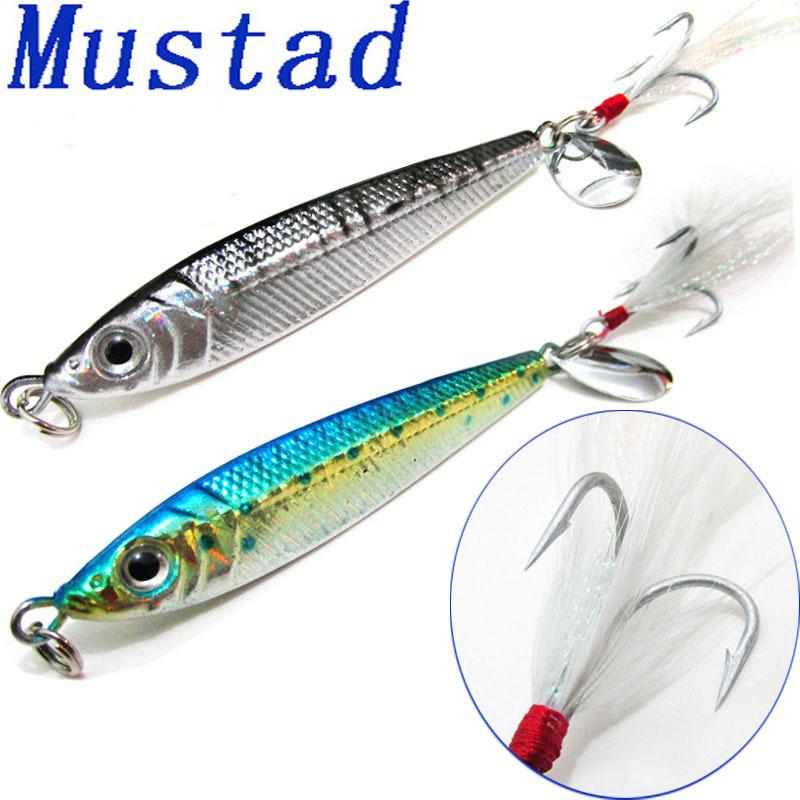 Hot Sale Laser Jigbait Fresh Salt Water Fishing Lure 42g 80g Lead Fish Artificial Baits Jigs Mustad Hooks
