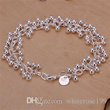 Wholesale - lowest price Christmas gift 925 Sterling Silver Fashion Necklace+Earrings set QS103