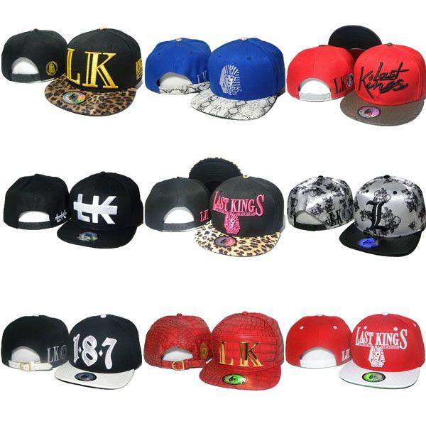 72 styles Derniers Kings Strapback chapeaux lk léopard casquettes Snapbacks ajustable chapeau de concepteur Hip hop Dastkings Snapback Cap de baseball en ligne