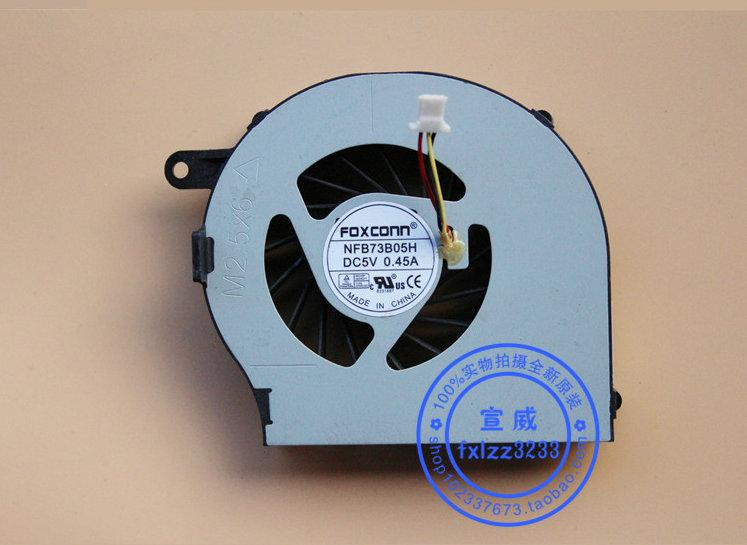 Nuevo ventilador de refrigeración para portátil original para HP Pavilion G72 CQ72 G62 NFB73B05H