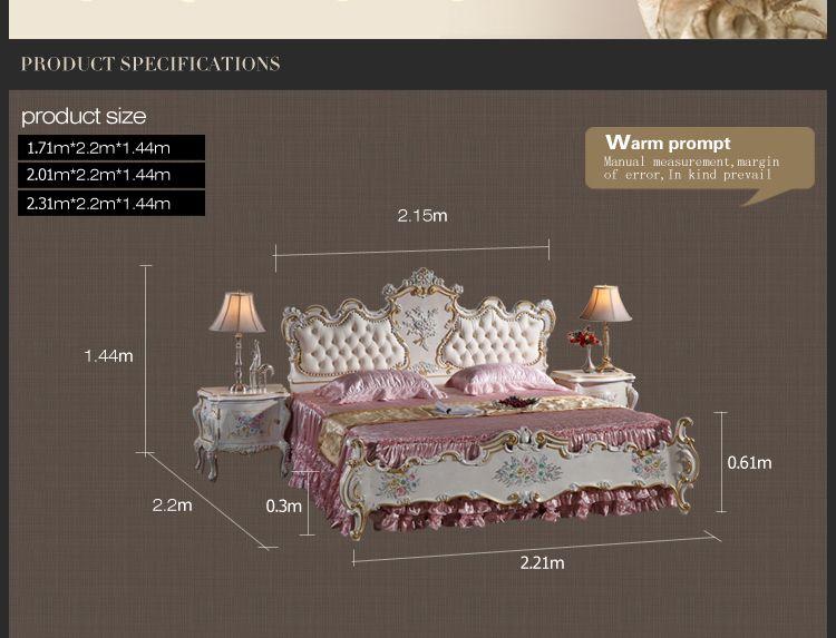 großhandel französische provinzialmöbel schlafzimmer rokoko stil, Schlafzimmer entwurf