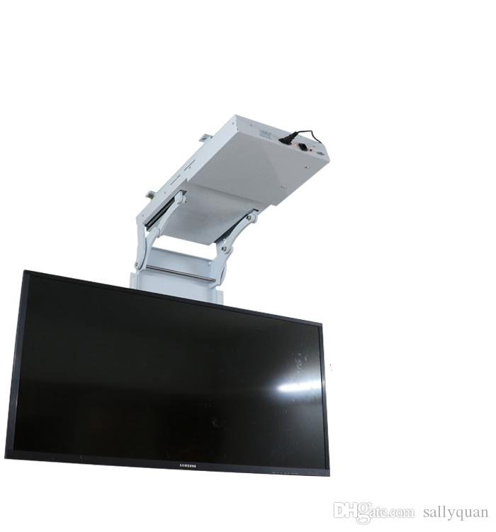 """New LCD Motorised TV Lift Mount Bracket Lift 32/"""" inch for 32/""""-70/"""" TV Automatic"""