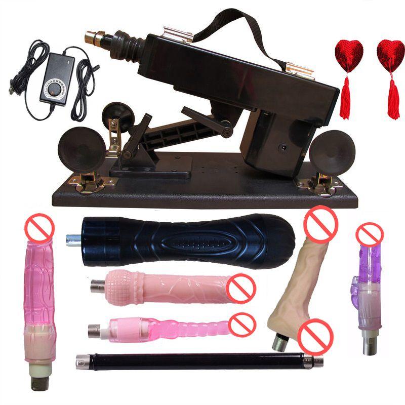 2016 New Adjustable speeds sex machine gun auto sex machine for woman dildo vagina toy, love climax machine; speed: 0-450 times minute