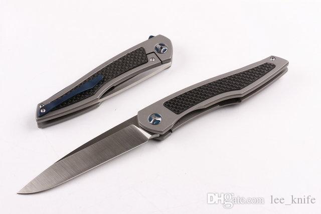 MX Super Tactical knife three generations S35VN steel folding camping hunting knife folding knife D2 zt 1pcs free shipping