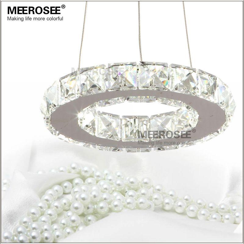 silber kristall ring led kronleuchter kristall lampe licht beleuchtung befestigung moderne led kreis licht - Kronleuchter Fur Wohnzimmer