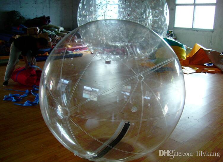 فقاعة Cutomize المواد البلاستيكية نفخ المياه الكبيرة نفخ الكرة المياه المشي المياه المرح بركة لعبة الرقص الكرة مع ألمانيا سحاب