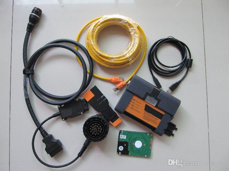 neweswt BMW 진단 프로그래밍 도구에 대한 하드 디스크 500기가바이트와 C 3IN1 나 BMW ICOM A2를위한 BMW 진단 도구