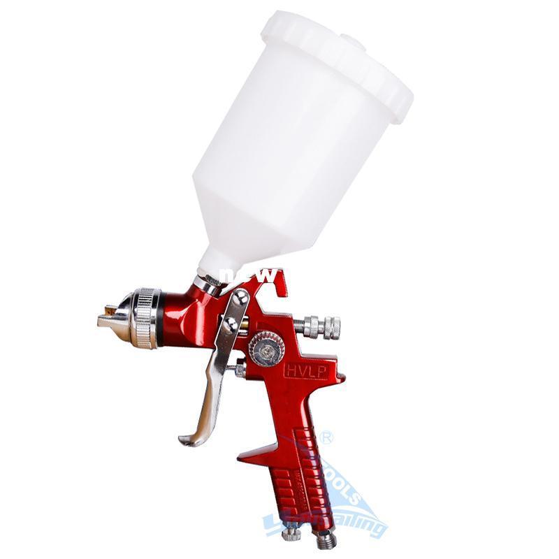 Heißer Verkauf Hohe Qualität 600cc Schwerkraft Pneumatische Spritzpistole Airbrush Air Spray Pinsel Werkzeug Ejection Gun