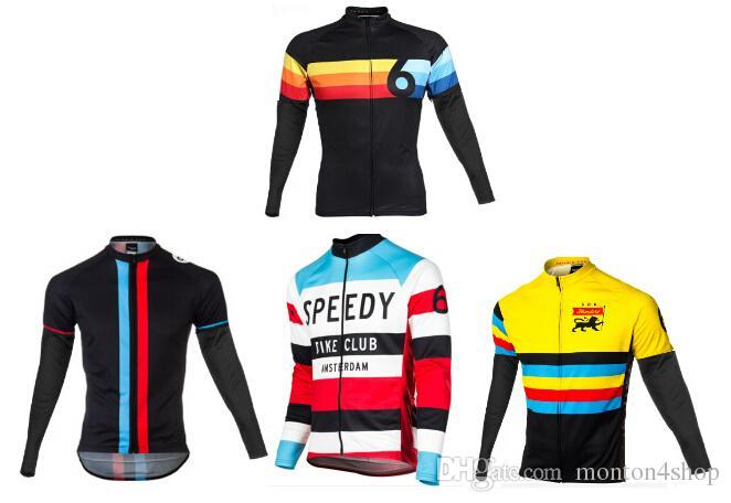 2021 트윈 6 겨울 양털 열 사이클링 저지 / 겨울 사이클링 의류 / Ciclismo Maillot MTB P4