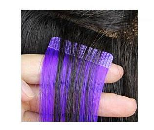 tape hair extensions how to apply 4