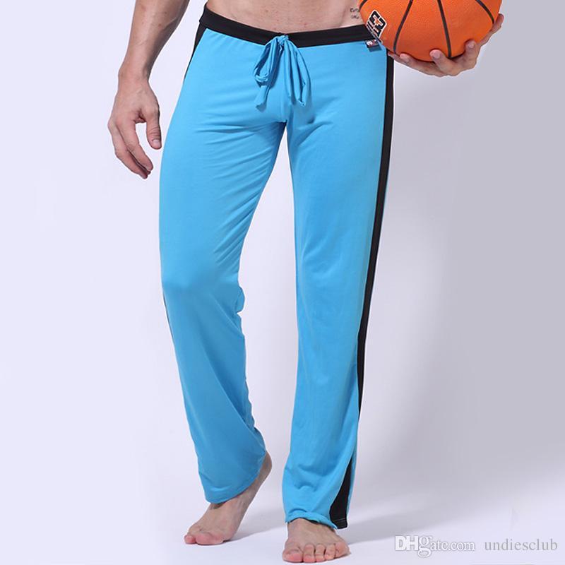 Men Low-rise Sport Sweat Pants Gym Athletic Slim Fit Lounge Trousers Casual Pant