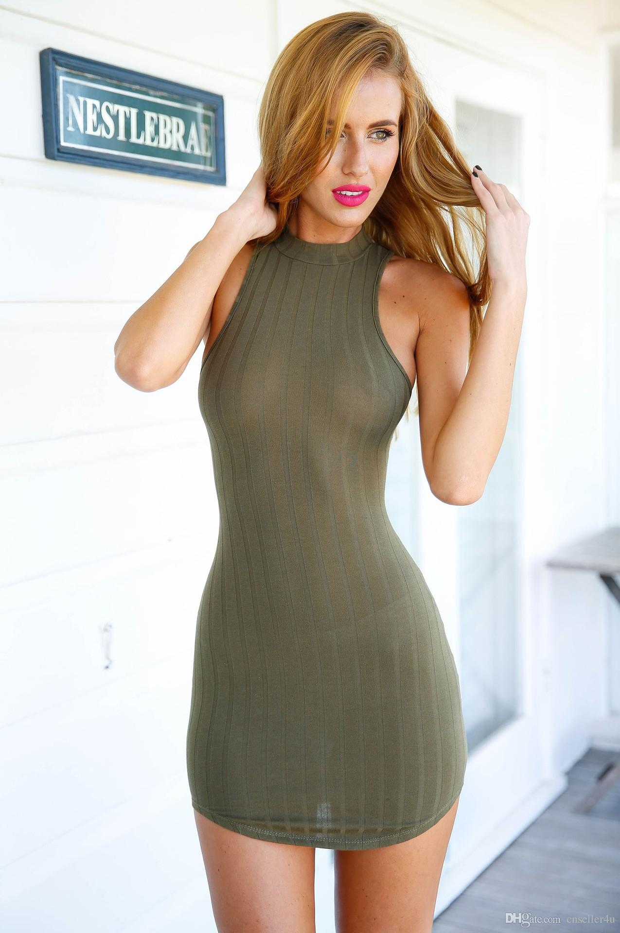 Sexy Halter Top Dresses for Cheap