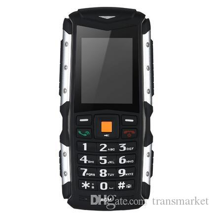 IP68 للماء AGM M1Tri واقية الهاتف 2.0inch 2570mAh 2.0MP كاميرا أمامية للهاتف المحمول 64MB + 128MB المزدوج سيم بطاقة الغبار الهاتف المحمول الساخن بيع