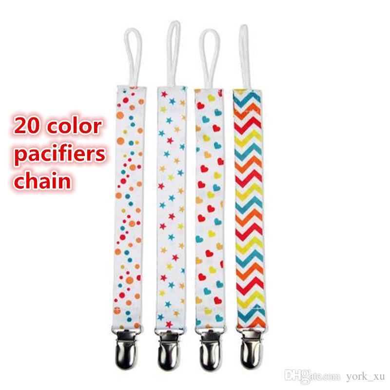 Новые Chupeta Baby Pacifier Clips Pacifiers Chain Chain Baby Nabifle Chain Antify Antify Pacifier Nipple Read Kid346