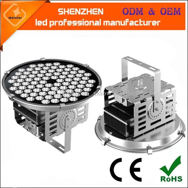 500w 120lm/w LED stadium lights high quality pole lamp 500w high power led industrial flood spot light