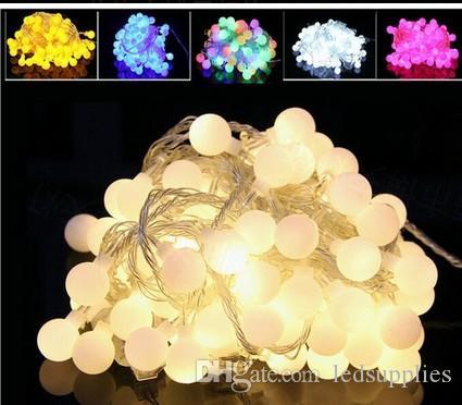 30 m 300 LED top dize noel ışıkları tatil parti düğün dekorasyon Garland lambaları kapalı aydınlatma 220 v