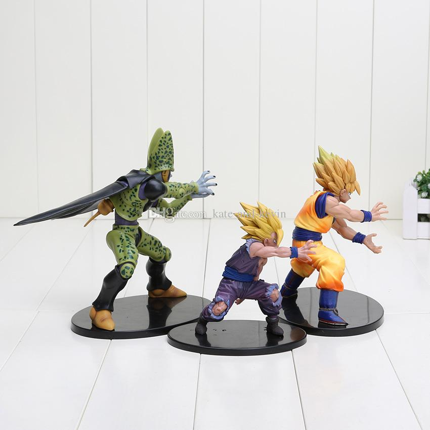 100/% New Banpresto Dramatic Showcase Dragon Ball Z Cell PVC Action Figure Toy